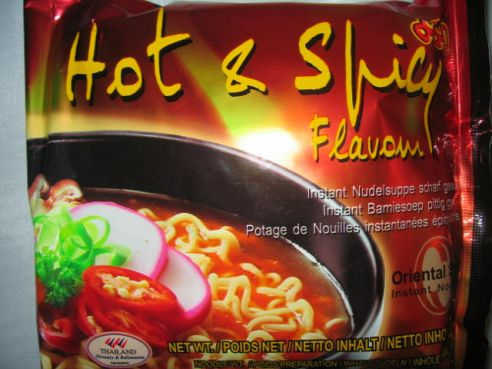Hot & Spicy, Jumbo, Mama, 20x90g