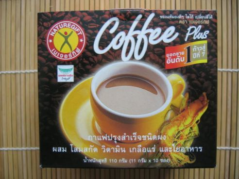 Coffee Plus, Naturegift, Kaffee mit Ginseng, 135g