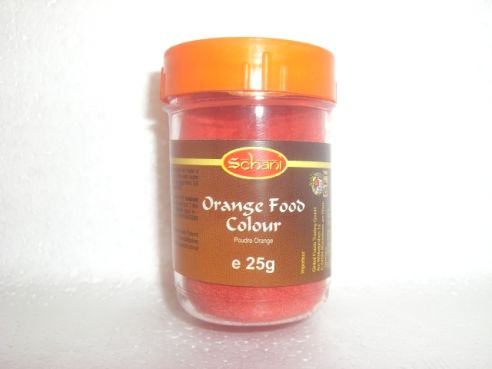 Lebensmittelfarbe, orange, Schani, 25g