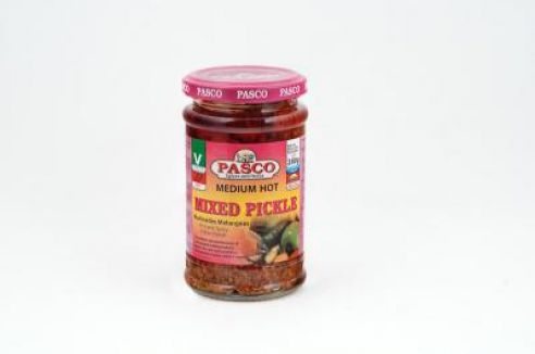 Mixed Pickles, hot, eingemachtes, scharf, Pasco, 280g