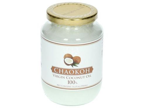Kokosöl, Kokos Öl, Chaokoh, Coconut Oil, virgin, native, kalt gepresst, 450ml