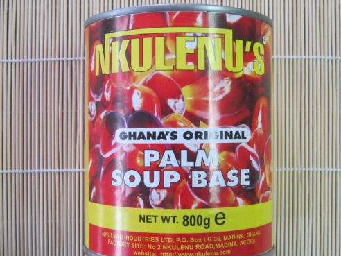 Palm Soup Base, Palm Fruchtfleisch, Nkulenu, Ghana, 800g