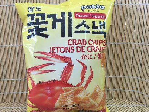 Crab Chips, Paldo, 50g