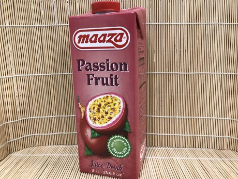 Passionsfruchtsaft (Maracuja) Drink, Maaza, 1 ltr.