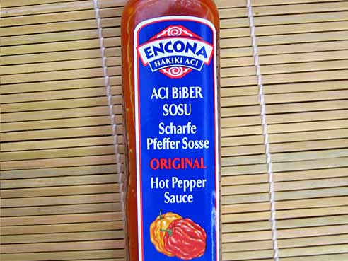 West Indian Hot Pepper Sauce, Encona, 142ml