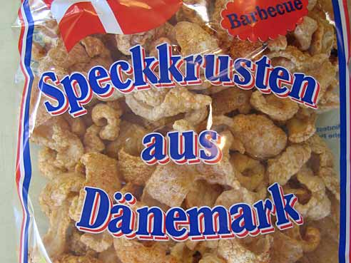 Speckkrusten geröstet, Bacon Chips, barbeque, 150g