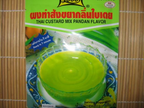 Thai Pudding Mischung, Pandan Flavour, Lobo, 120g