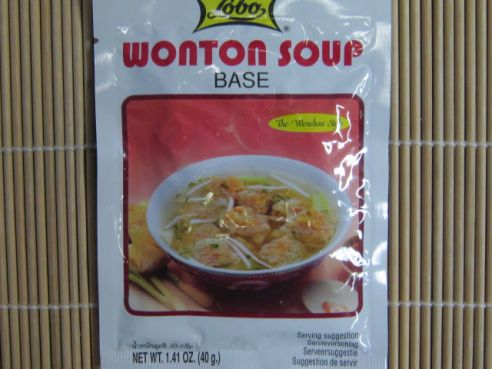 Wonton Suppen Basis, Wenchou Art. Lobo, 40g