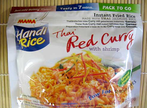 Handi Rice, Red Curry, Mama Thai Food, 80g
