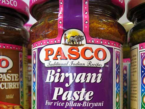 Curry Paste, Biryani, Pasco, 260g
