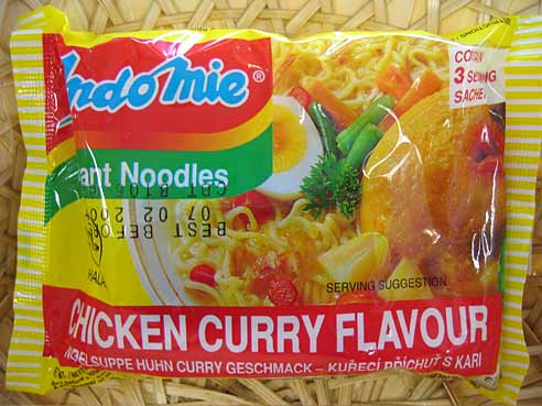 Huhn & Curry, Indomie,  3x80g