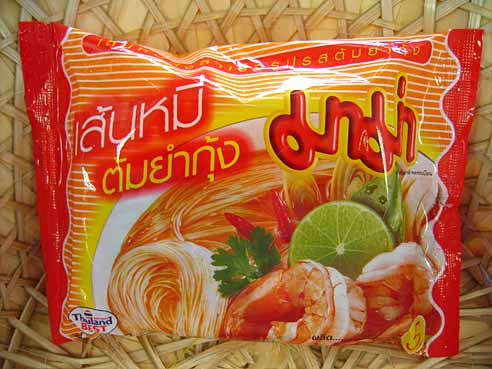 Tom Yum Gung, Reisnudel, Mama Thai Food,  3x55g