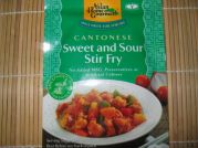 Cantonese, Sweet and Sour Stir Fry, Süß Sauer Mix, AHG, 50g