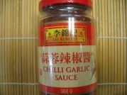 Chili Knoblauch Sauce, Lee Kum Kee, 368g