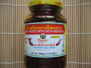 Chili Paste mit Sojaöl, mittelscharf, Pantainorasingh, 500g