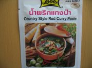 Thailändische Currypaste, Country Style Red, Lobo, 50g