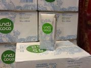 Kokoswasser, 100% pure and natural, 330ml Tetra, Indi Coco