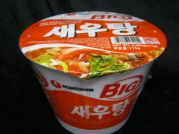 Big Bowl Noodle Soup, Shrimp, Nong Shim,  1x114g