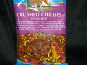 Chili Flocken, crushed chilies, extra hot, TRS, 100g