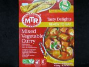 Mixed vegetable Curry, Gemüsecurry, MTR, 300g