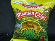 Plantain Chips, lightly salted, Bananen Chips, leicht gesalzen, Tropical Gourmet, 85g