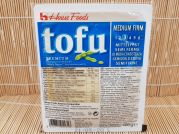 Tofu, Silken, medium firm, mittelfest, Seiden Tofu, House Food, 400g