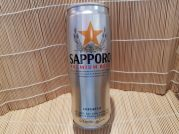 Sapporo Premium Beer, japanisches Bier, 5,0% Alk, VOL., 650ml, Silver Can