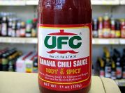 Bananen Chili-Sosse, hot & spicy, UFC Heinz , 320g
