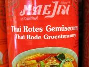 Thai Gemüse in rotem Curry, Maejin, 410g