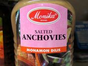 Salted Anchovies, Monamon Dilis, Monika, 340g