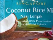 Singapure, Coconut Rice Mix, AHG, 50g