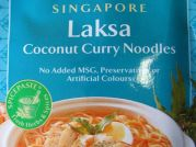 Singapure, Laksa Coconut Curry Noodles, AHG, 50g