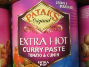 Patak`s Curries, scharfe Curry Paste, Patak`s Original, 283g