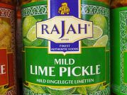 Lime Pickle, mild, Rajah, 285g