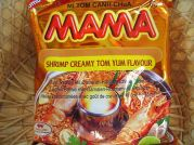 Garnelen-Rahmgeschmack Tom Yum, Jumbo Pack, Mama Thai Food,  20x90g