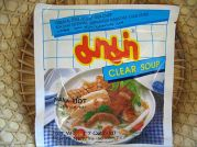 Kua Chap, klare Reisnudel-Chip Suppe, Mama Thai Food, 3x50g