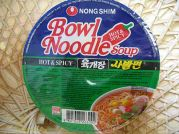Bowl Noodle Soup, Hot & Spicy, Yukgaejang, Nong Shim,  1x86g