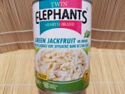 Jackfrucht, jung, pulled Jackfruit, green, Twin Elephants, 540g/ 283g ATG