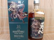 Shinobu, Pure Malt Whisky, 10 Jahre, Mizunara, oak finish, 43% Alk. VOL., 700ml