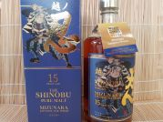 Shinobu, Pure Malt Whisky, 15 Jahre, Mizunara, oak finish, 43% Alk. VOL., 700ml